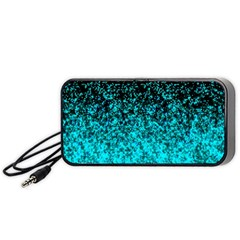 Glitter Dust G162 Portable Speaker (black)  by MedusArt