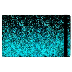 Glitter Dust G162 Apple Ipad 3/4 Flip Case by MedusArt