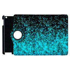 Glitter Dust G162 Apple Ipad 2 Flip 360 Case by MedusArt