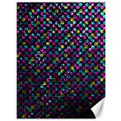 Polka Dot Sparkley Jewels 2 Canvas 36  X 48   by MedusArt