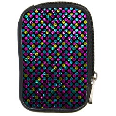 Polka Dot Sparkley Jewels 2 Compact Camera Cases by MedusArt
