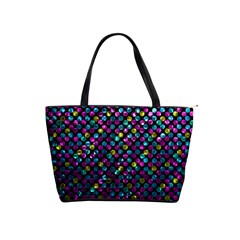Polka Dot Sparkley Jewels 2 Shoulder Handbags by MedusArt