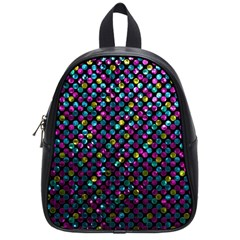 Polka Dot Sparkley Jewels 2 School Bags (small)  by MedusArt