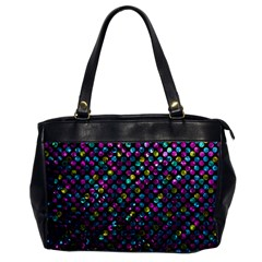 Polka Dot Sparkley Jewels 2 Office Handbags by MedusArt
