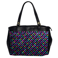 Polka Dot Sparkley Jewels 2 Office Handbags (2 Sides)  by MedusArt