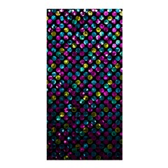Polka Dot Sparkley Jewels 2 Shower Curtain 36  X 72  (stall)  by MedusArt