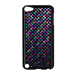 Polka Dot Sparkley Jewels 2 Apple Ipod Touch 5 Case (black) by MedusArt