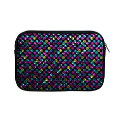 Polka Dot Sparkley Jewels 2 Apple Ipad Mini Zipper Cases by MedusArt