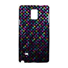Polka Dot Sparkley Jewels 2 Samsung Galaxy Note 4 Hardshell Case by MedusArt
