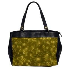 Snow Stars Golden Office Handbags by ImpressiveMoments