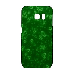 Snow Stars Green Galaxy S6 Edge by ImpressiveMoments