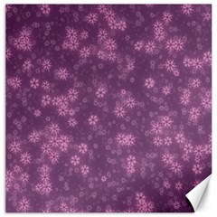Snow Stars Lilac Canvas 20  X 20   by ImpressiveMoments