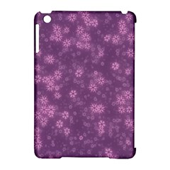 Snow Stars Lilac Apple Ipad Mini Hardshell Case (compatible With Smart Cover) by ImpressiveMoments