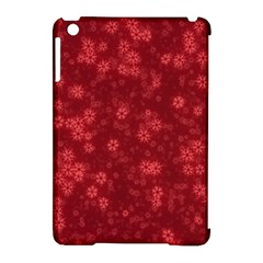 Snow Stars Red Apple Ipad Mini Hardshell Case (compatible With Smart Cover) by ImpressiveMoments