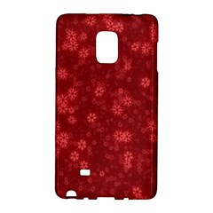 Snow Stars Red Galaxy Note Edge by ImpressiveMoments
