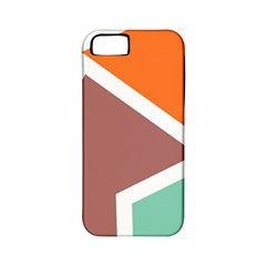 Misc Shapes In Retro Colors Apple Iphone 5 Classic Hardshell Case (pc+silicone) by LalyLauraFLM