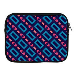 Rectangles And Other Shapes Pattern Apple Ipad 2/3/4 Zipper Case by LalyLauraFLM