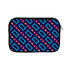Rectangles And Other Shapes Pattern Apple Ipad Mini Zipper Case by LalyLauraFLM