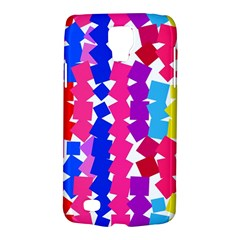 Colorful Squares Samsung Galaxy S4 Active (i9295) Hardshell Case by LalyLauraFLM