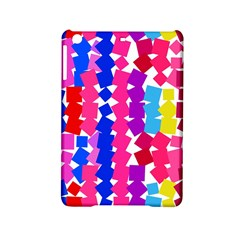 Colorful Squares Apple Ipad Mini 2 Hardshell Case by LalyLauraFLM
