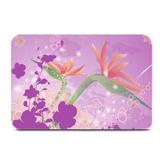 Wonderful Flowers On Soft Purple Background Plate Mats by FantasyWorld7