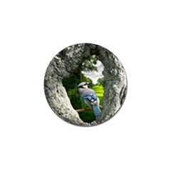 Bird In The Tree 2 Golf Ball Marker (4 Pack) by infloence
