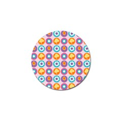 Chic Floral Pattern Golf Ball Marker (10 Pack) by creativemom