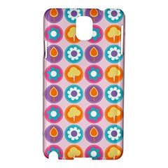 Chic Floral Pattern Samsung Galaxy Note 3 N9005 Hardshell Case by creativemom