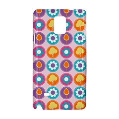 Chic Floral Pattern Samsung Galaxy Note 4 Hardshell Case