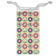 Chic Floral Pattern Jewelry Bags by creativemom