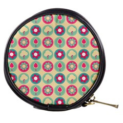 Chic Floral Pattern Mini Makeup Bags by creativemom