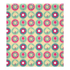 Chic Floral Pattern Shower Curtain 66  X 72  (large)  by creativemom