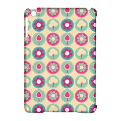 Chic Floral Pattern Apple Ipad Mini Hardshell Case (compatible With Smart Cover) by creativemom