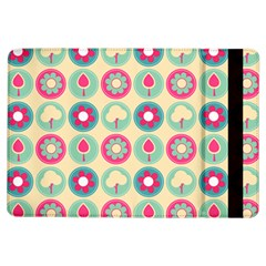 Chic Floral Pattern Ipad Air Flip