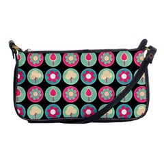 Chic Floral Pattern Shoulder Clutch Bags by creativemom