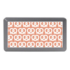 Salmon Pretzel Illustrations Pattern Memory Card Reader (mini) by creativemom