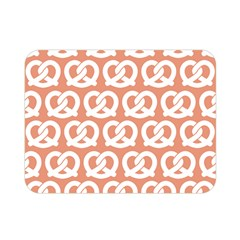 Salmon Pretzel Illustrations Pattern Double Sided Flano Blanket (mini)  by creativemom