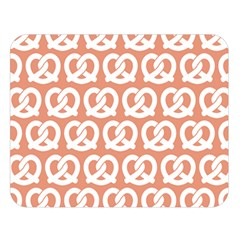 Salmon Pretzel Illustrations Pattern Double Sided Flano Blanket (large)  by creativemom