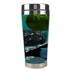 Submarine With Orca Stainless Steel Travel Tumblers by FantasyWorld7