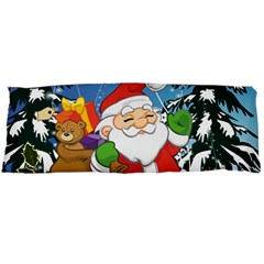 Funny Santa Claus In The Forrest Body Pillow Cases (dakimakura)