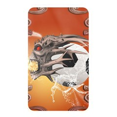 Soccer With Skull And Fire And Water Splash Memory Card Reader by FantasyWorld7