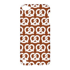 Brown Pretzel Illustrations Pattern Apple Ipod Touch 5 Hardshell Case by creativemom