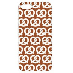 Brown Pretzel Illustrations Pattern Apple Iphone 5 Hardshell Case With Stand by creativemom