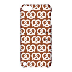 Brown Pretzel Illustrations Pattern Apple Ipod Touch 5 Hardshell Case With Stand by creativemom