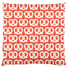 Coral Pretzel Illustrations Pattern Standard Flano Cushion Cases (two Sides)