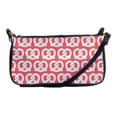 Chic Pretzel Illustrations Pattern Shoulder Clutch Bags by creativemom