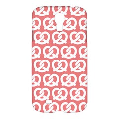 Chic Pretzel Illustrations Pattern Samsung Galaxy S4 I9500/i9505 Hardshell Case by creativemom