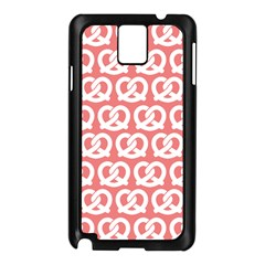 Chic Pretzel Illustrations Pattern Samsung Galaxy Note 3 N9005 Case (black) by creativemom