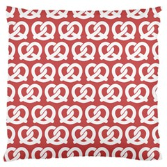 Trendy Pretzel Illustrations Pattern Large Cushion Cases (one Side)