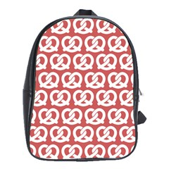 Trendy Pretzel Illustrations Pattern School Bags (xl)  by creativemom